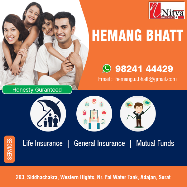 Insurance and Investment Agents in Surat | Tachukdi Ad (www.tachukdiad.com)