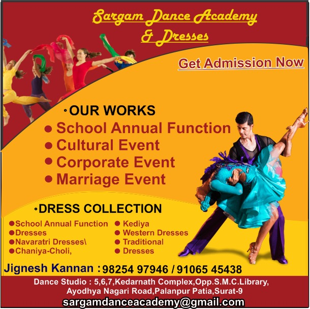 Dance Classes in Surat | Tachukdi Ad (www.tachukdiad.com)