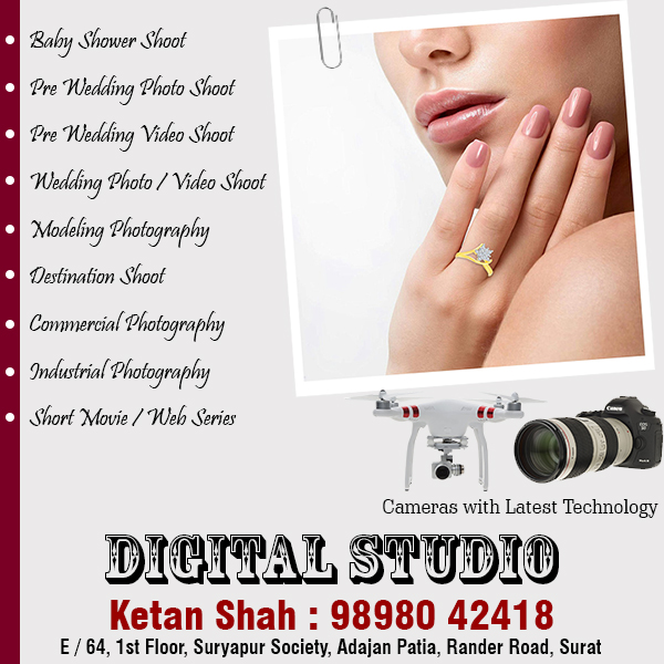 Photo Shoot & Videography in Surat | Tachukdi Ad (www.tachukdiad.com)
