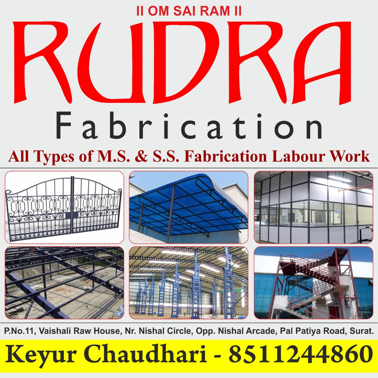 Fabrication Work in Surat | Tachukdi Ad (www.tachukdiad.com)
